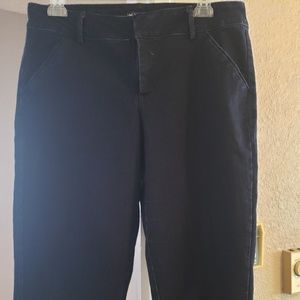 Relaxed Blue Jean Capris - Never Worn!!!